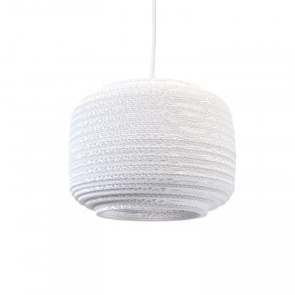 Graypants White Ausi 12 Pendant Lamp