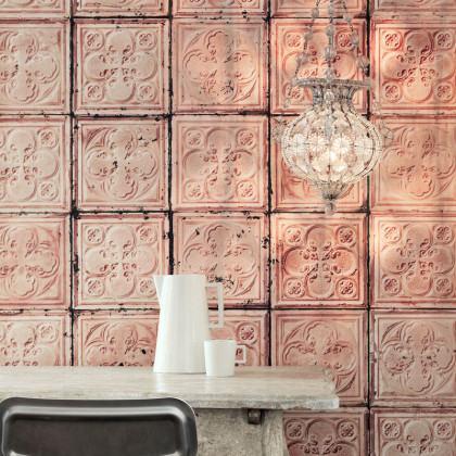 NLXL Brooklyn Tins Wallpaper by Merci TIN-06