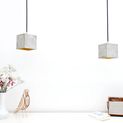 GANTlights B1 Concrete Pendant - light