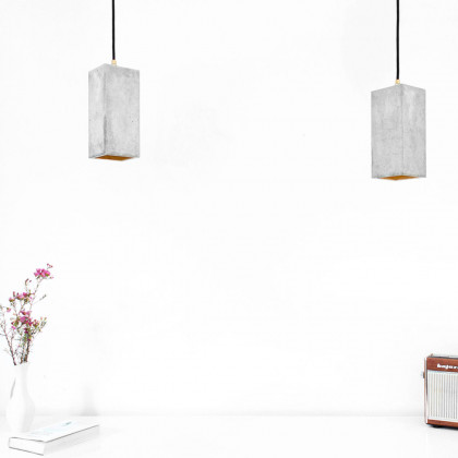 GANTlights B2 Concrete Pendant - Light