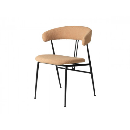 Gubi Violin Dining Chair - Fully Upholstered