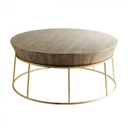 Fir Wood Coffee Table