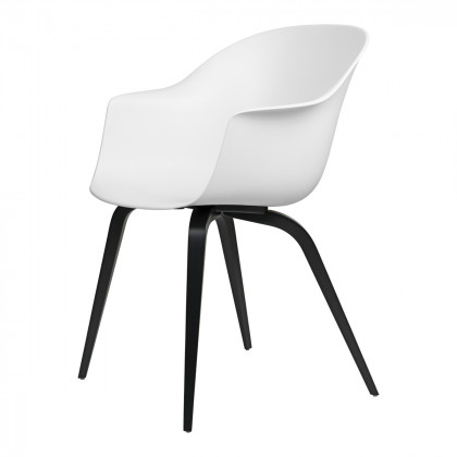 Gubi Bat Dining Chair - Wood Base