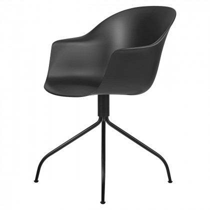 Gubi Bat Meeting Chair - Un-Upholstered, Swivel Base