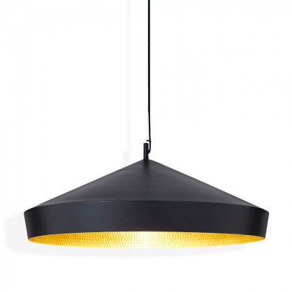 Tom Dixon Beat Flat Pendant - Black