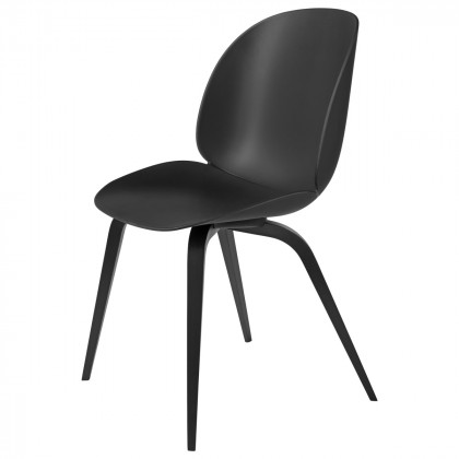 Gubi Beetle Dining Chair, Wood Base