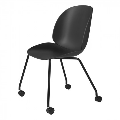 Gubi Beetle Meeting Chair - 4 Legs W. Castors