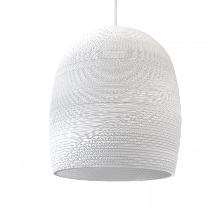 Graypants White Bell Pendant Lamp - 16 inch