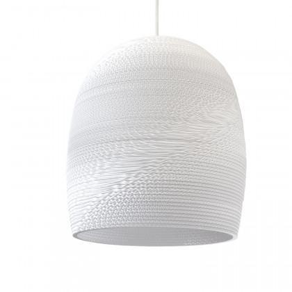 Graypants White Bell Pendant Lamp - 16 inch