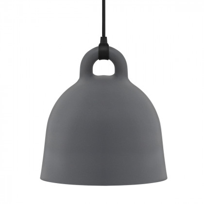 Normann Copenhagen Bell Pendant Lamp -Grey-S - 37 cm h x 35 cm d