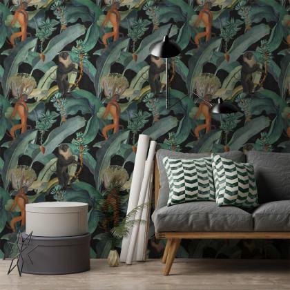 Mind The Gap Bermuda Monkeys Wallpaper