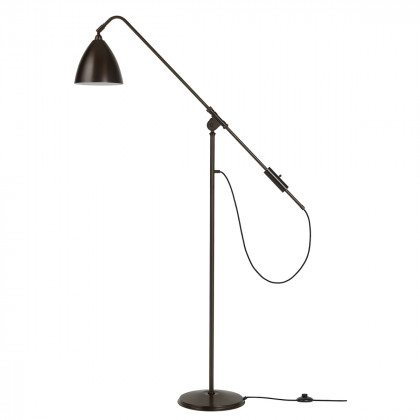 Gubi BL4 Floor Lamp - Black Brass