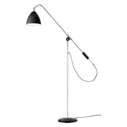 Gubi BL4 Floor Lamp - Chrome