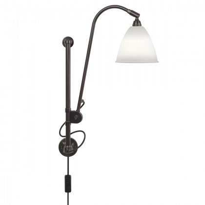 Gubi BL5 Wall Lamp - Black Brass