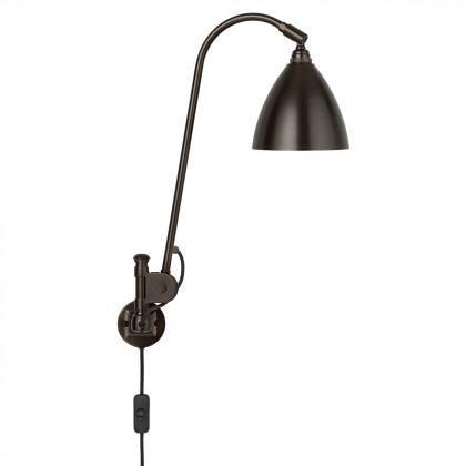 Gubi BL6 Wall Lamp - Black Brass