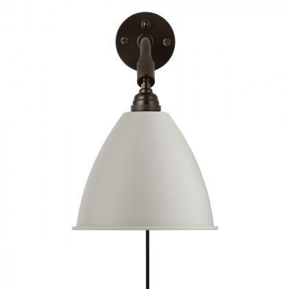 Gubi BL7 Wall Lamp - Black Brass
