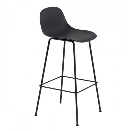 Muuto Fiber Tube Base Bar Stool - 75cm