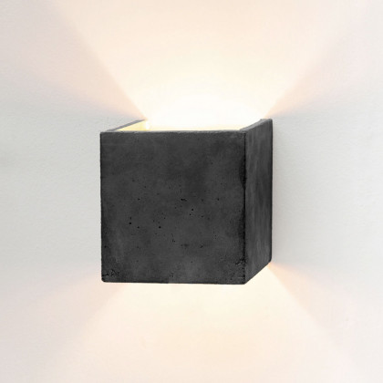 GANTlights B3 Concrete Wall Light - Dark Grey
