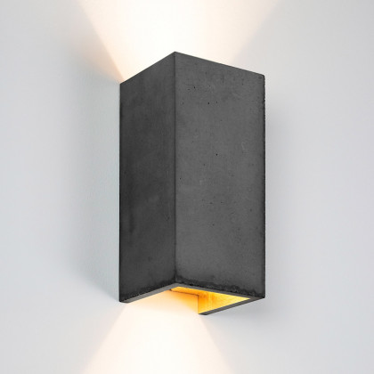Gant Lights B8 Concrete Wall Light - Dark