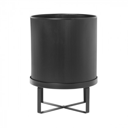 Ferm Living Bau Pot - Large-Black