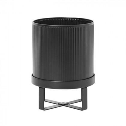 Ferm Living Bau Pot - Small-Black