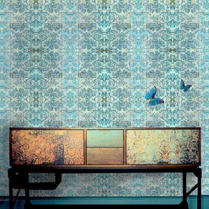 Blackpop Chapelle Morpha Wallpaper