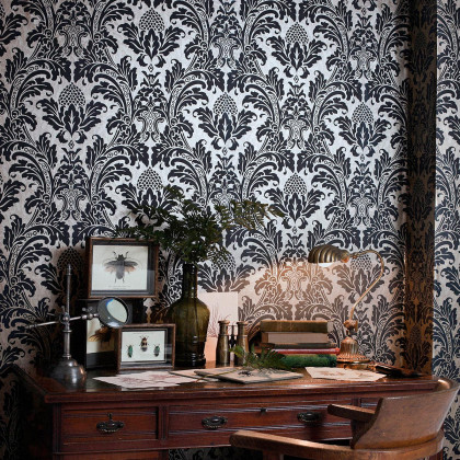 Cole and Son Blake Demask Wallpaper - Albemarle
