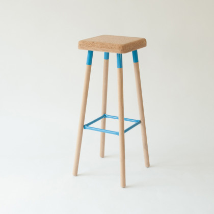 Ubikubi Marco Cork Bar Stool