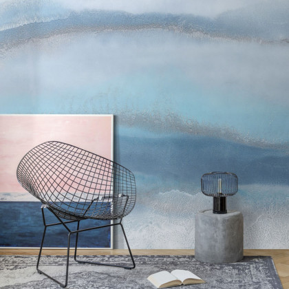 Feathr Blue Lagoon Mural Wallpaper