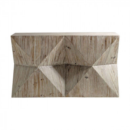 Cubist Console Table