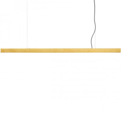 Anour Brushed Brass Pendant Lamp