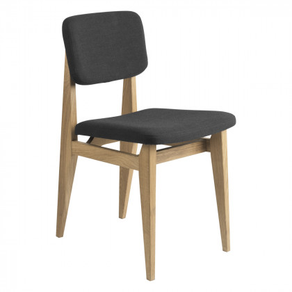 Gubi C-Chair Dining Chair - Fully Upholstered