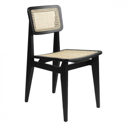 Gubi C-Chair Dining Chair - French Cane
