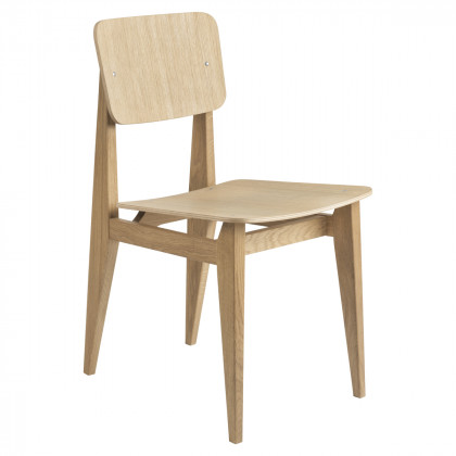Gubi C-Chair Dining Chair - Veneer