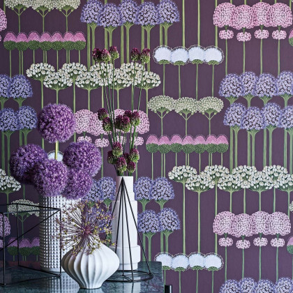 Cole and Son Allium Wallpaper - Botanicals