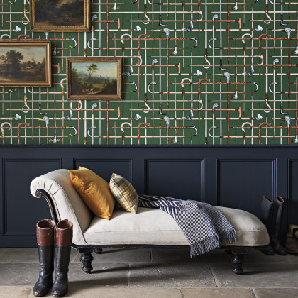 Cole and Son Bastoni Wallpaper - Fornasetti Senza Tempo