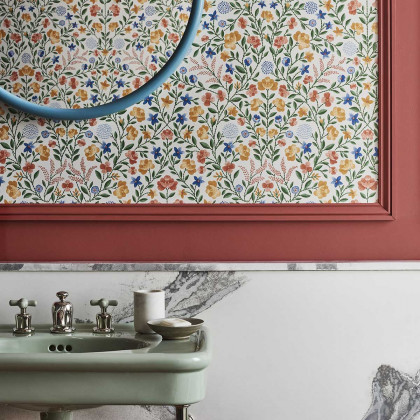Cole and Son Court Embroidery Wallpaper