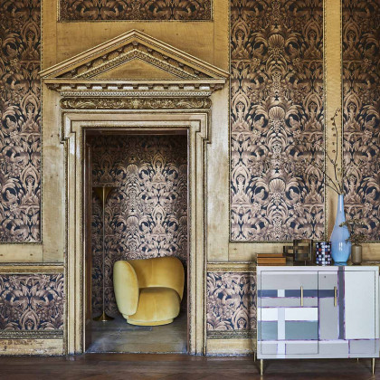 Cole and Son Gibbons Carving Wallpaper