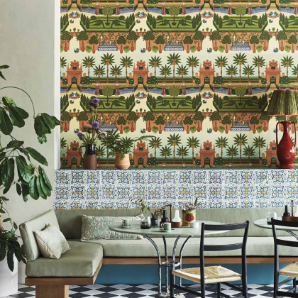 Cole and Son Alcazar Gardens Wallpaper