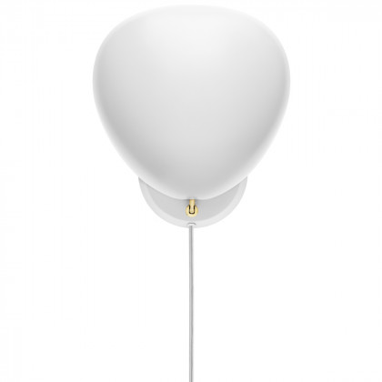 Gubi Cobra Wall Lamp - White Semi Matt
