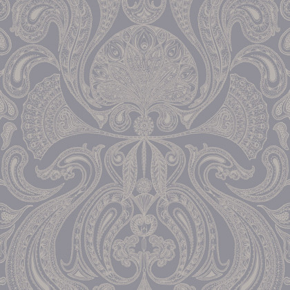 Cole and Son Malabar Wallpaper - Slate Grey (95-7042) - 1 roll from a batch