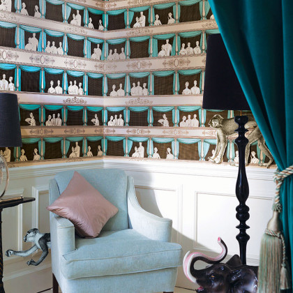 Cole and Son Teatro Wallpaper - Fornasetti
