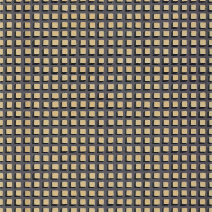 Cole and Son Mosaic Wallpaper - Gold and Black (one roll from a batch)