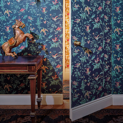 Cole and Son Hummingbirds Wallpaper - Archive Anthology