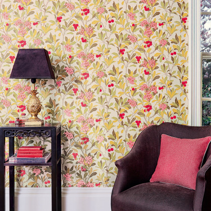 Cole and Son Strawberry Tree Wallpaper