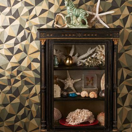 Cole and Son Quartz Geometric Wallpaper - Curio