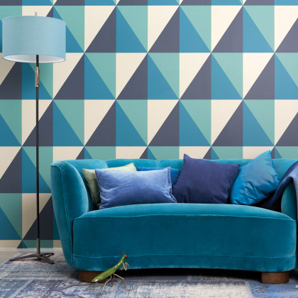 Cole and Son Apex Grand Wallpaper - Geometric ll