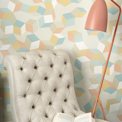 Cole and Son Puzzle Wallpaper - Geometric ll