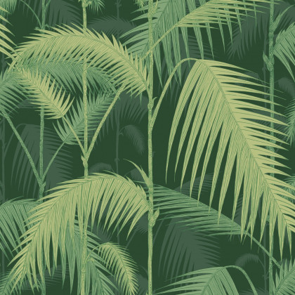 Cole and Son Icons Palm Jungle Wallpaper-112-1003 (2 rolls for a batch)