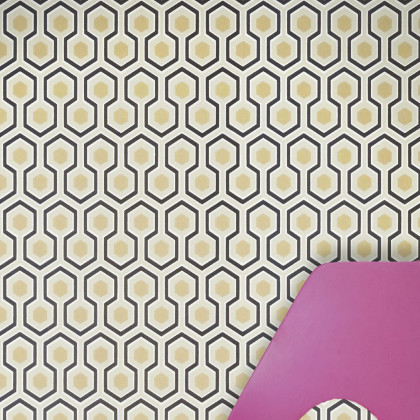 Cole and Son Hicks Hexagon Wallpaper